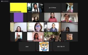 Instagramセミナー講義資料の集合写真
